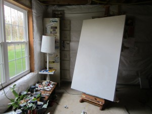 An empty canvas waiting for paint.
