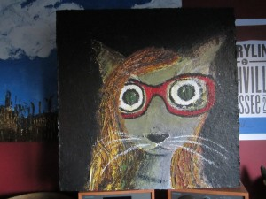 Self-portrait as a cat.