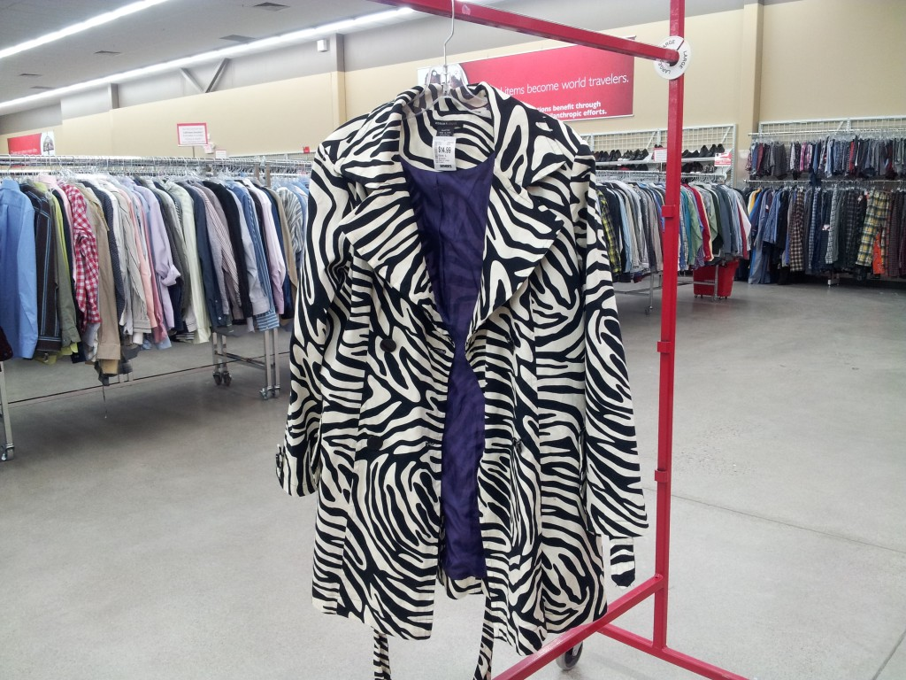 Do you need a Zebra Coat to feel content?
