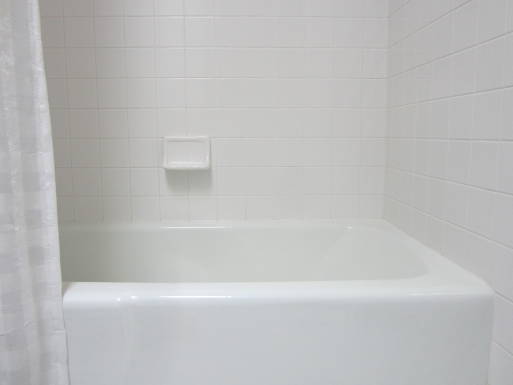 This is the bathtub I bathed in the day I got married