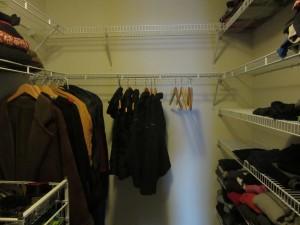 My minimalist closet