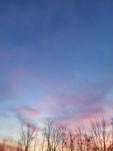 Sunrise on Easter Sunday