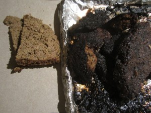 burnt meatloaf