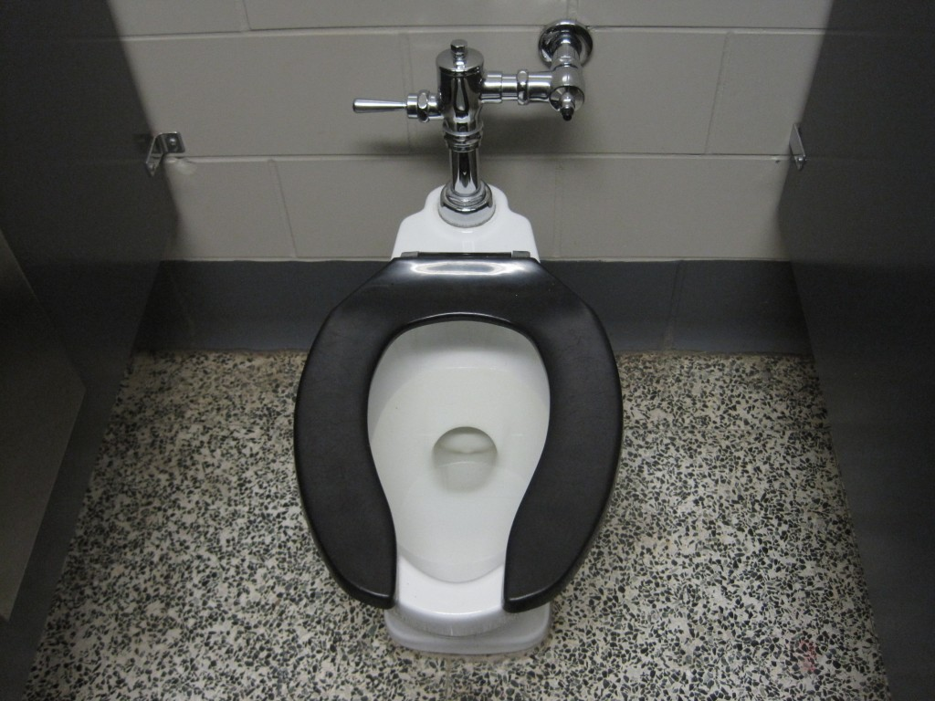 The toilet at my old high school