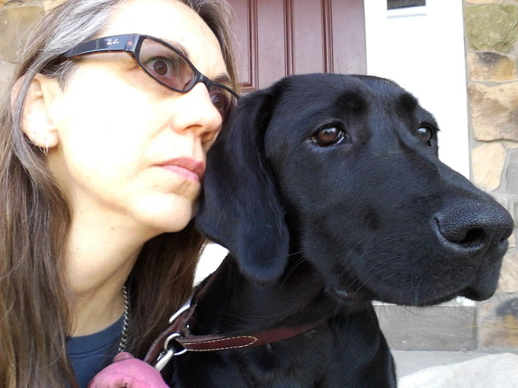 penny and pamela. Penny, the dog, is smarter than I am