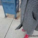 Stop hiding behind a long coat
