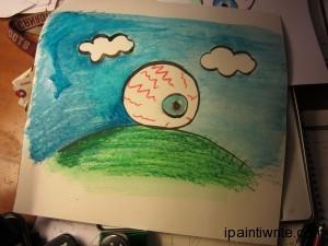 A two story eyeball.