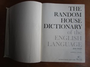 Don't throw away your dictionary
