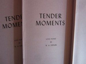 Tender Moments, Love Poems by W.H Fernuik