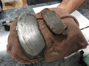 Bad brake pads