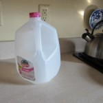 An empty milk jug on the kitchen counter ruined my day