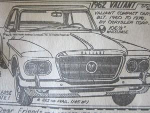 My 1962 Valiant