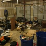 Winter Storm Electra helped me clean out my garage