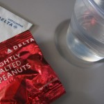 How many peanuts are in a Delta Airlines bag of peanuts?