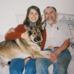 My father died with dog hair on his carpet