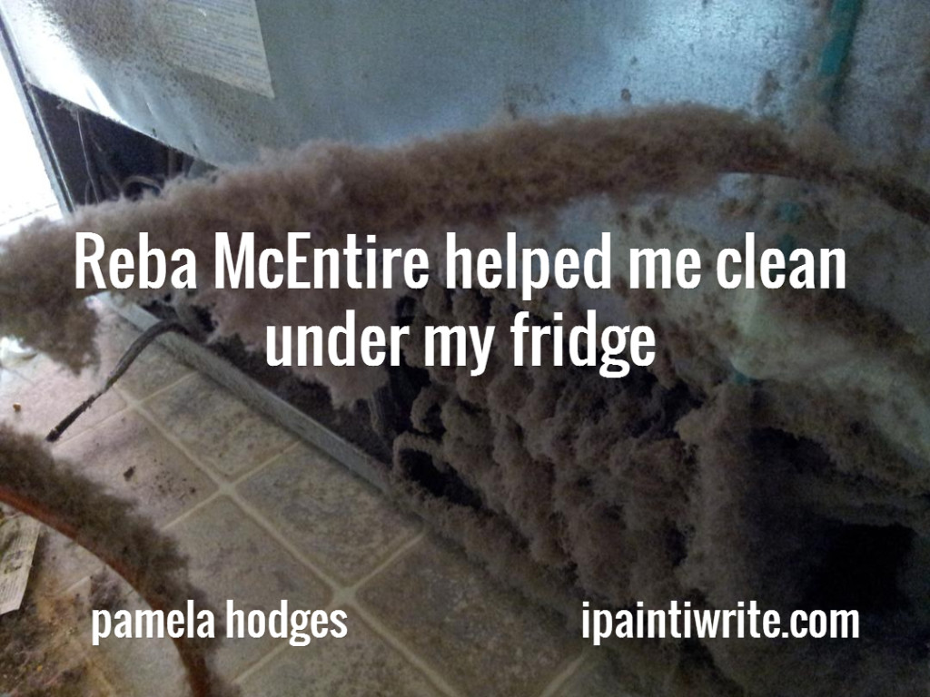 Reba Mcentire Helped Me Clean Under My Fridge