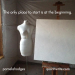 The only place to start is at the beginning