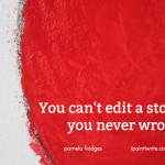 You can't edit a story you never wrote